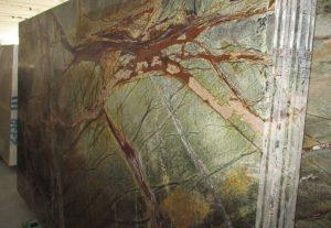 Rain forest green mermer materijali Mermeri i Graniti Ilić