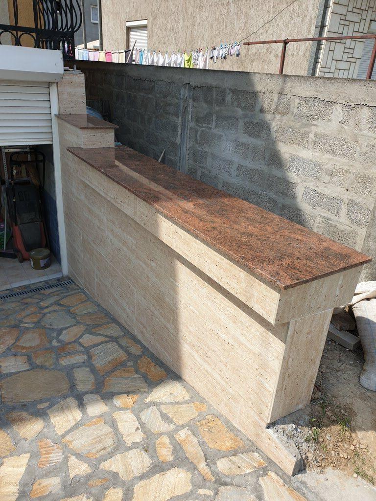 Fasade i zidovi mermeri i graniti