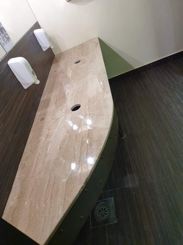 Kupatilske ploče od mermera daino reale
