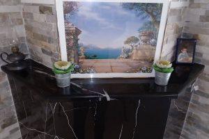 oblaganje kamina mermerom