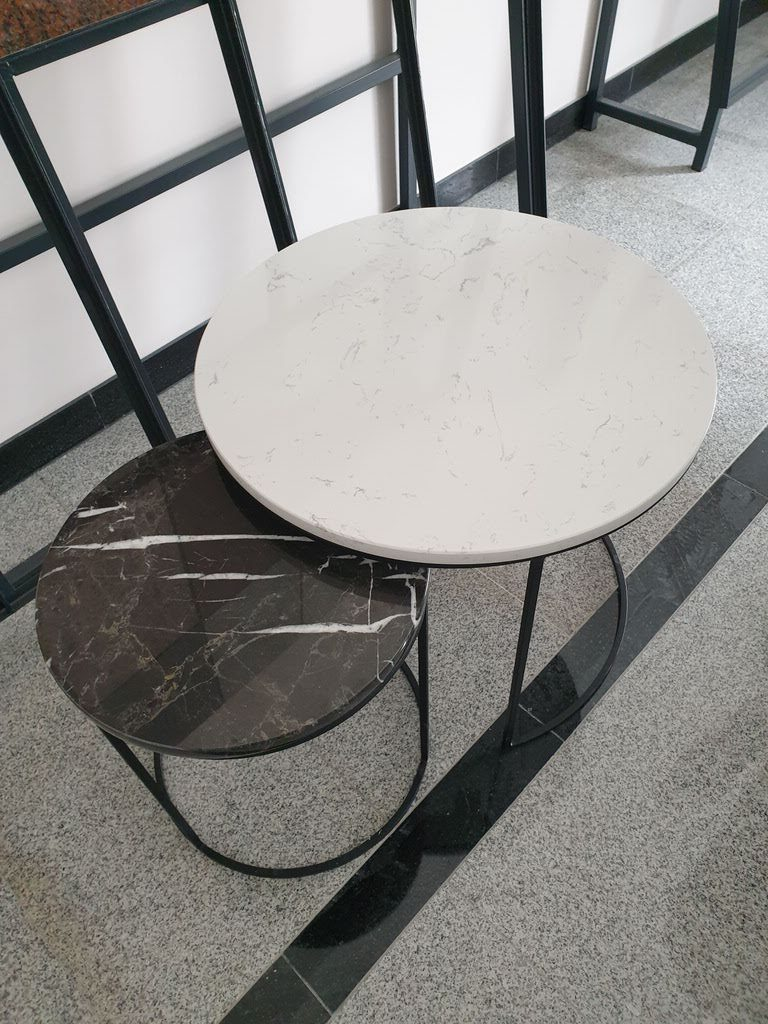klub stolovi mermer